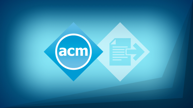 publish with acm